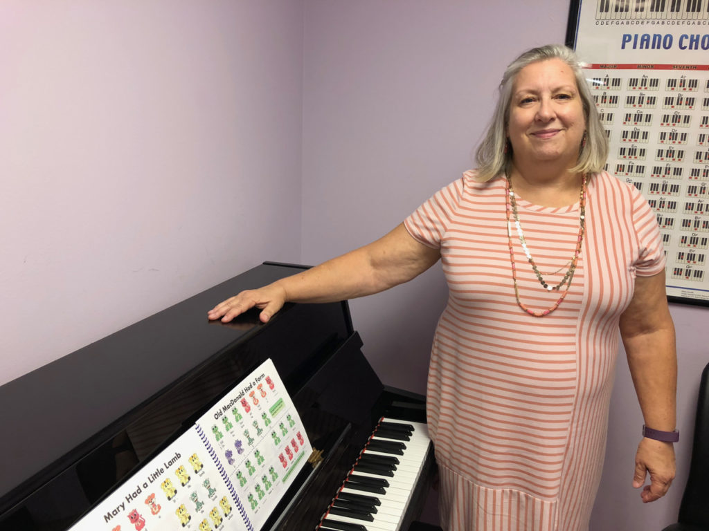 Piano Teacher Maggie Wright